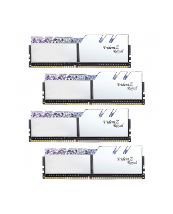 G.Skill DDR4 - 32GB -4000 - CL - 18 - Quad Kit, Trident Z Royal (silver, F4-4000C18Q-32GTRS)