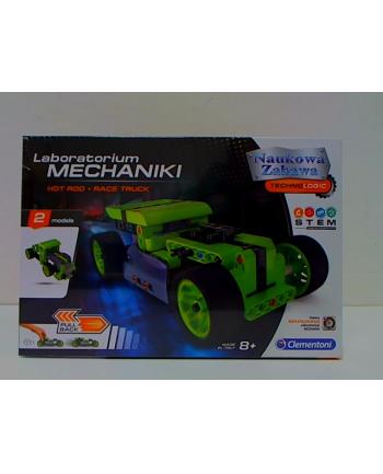 Clementoni Laboratorium mechaniki Hot Rod i Race Truck 50634