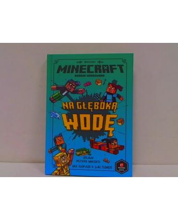 egmont Książka Minecraft. Na głęboką wodę