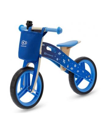 Kinderkraft rowerek  biegowy Runner Galaxy blue z akcesoriami