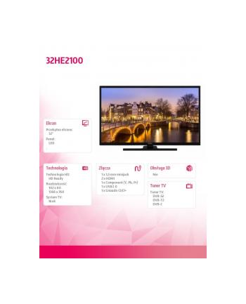 hitachi Telewizor LED 32 cale SMART HD 32HE2100