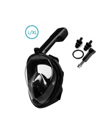 globix Maska do nurkowania czarna L/XL GG0703