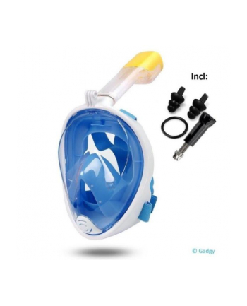 globix Maska do nurkowania niebieska GG0753