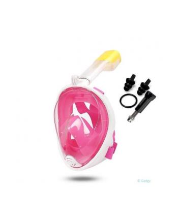 globix Maska do nurkowania różowa GG0754