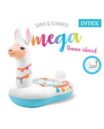 Materac wyspa mega Llama w pudełku 201cmx147cmx173cm  57294EU INTEX