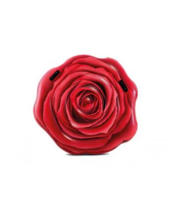 Materac wyspa Róża czerwona 137x132cm 58783 INTEX