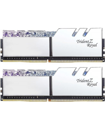 G.Skill DDR4 - 16 GB -3600 - CL - 14 - Dual kit, Trident Z Royal (silver, F4-3600C14D-16GTRSB)