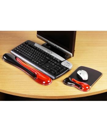 Podkładka pod mysz Mouse Pad czerwono-czarna 62402