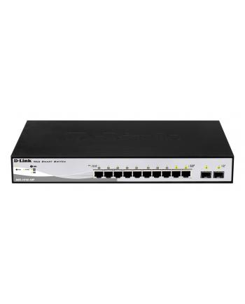 Switch D-Link 10-port 10/100/1000 Gigabit PoE Smart Switch including 2 Combo 1000BaseT