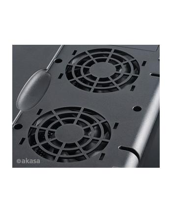 Podstawka do Notebooka chłodząca Notebook Cooler AK-NBC-29BK Echo Black