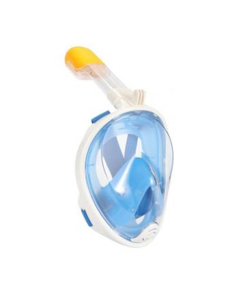 globix Maska do nurkowania biało-niebieska L/XL GG0825