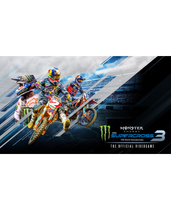 plug in digital Gra PC Monster Energy Supercross-The Official Video Game 3 (wersja cyfrowa; DE  ENG; od 3 lat)