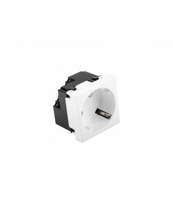 Gniazdo elektryczne Lanberg AC-4545SW-F-W (natynkowe; Type F)