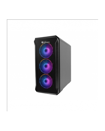 Obudowa NATEC Genesis Irid 503 ARGB NPC-1559 (Micro ATX  Mini ITX; kolor czarny)