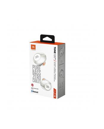 Słuchawki bezprzewodowe JBL T120 białe (kolor biały)