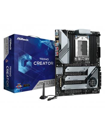 Płyta główna Asrock TRX40 CREATOR (sTRX4; 8x DDR4 DIMM; ATX; Quad CrossFireX  Quad SLI)