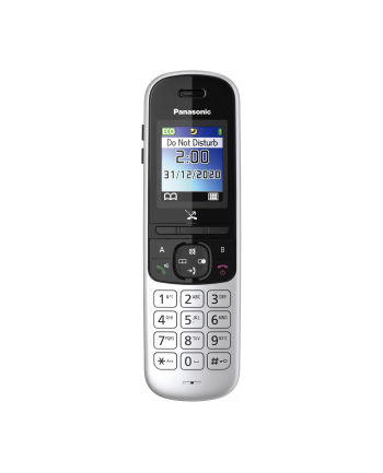 Telefon bezprzewodowy stacjonarny Panasonic KX-TGH710PDS (kolor srebrny)
