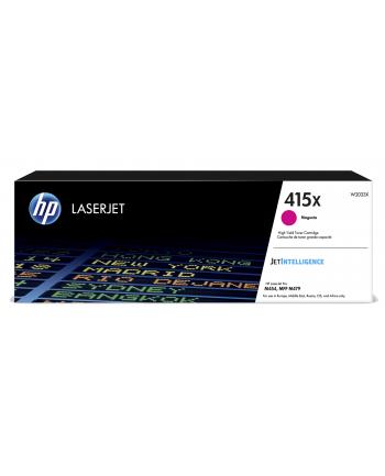 hewlett-packard Toner HP czerwony HP 415X  HP415X=W2033X  6000 str