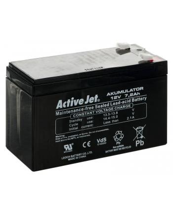 Akumulator UPS Activejet (12V DC; 7200mAh)