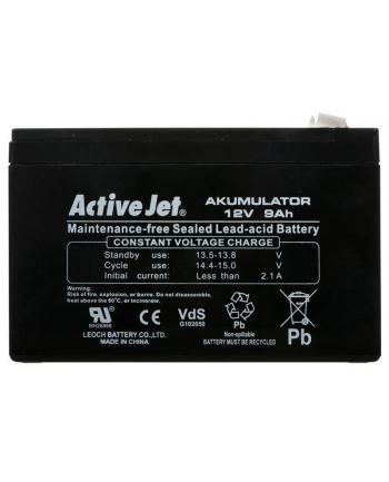 Akumulator UPS Activejet (12V DC; 9000mAh)