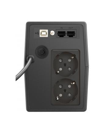 Zasilacz UPS POWER WALKER VI 800 SCL FR (Desktop; 800VA)