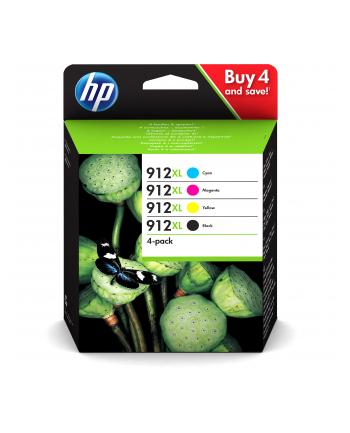 hewlett-packard Tusz HP zestaw HP 912XL  HP912XL=3YP34AE  zawiera cmyk 3YL81AE 3YL82AE 3YL83AE 3YL84AE