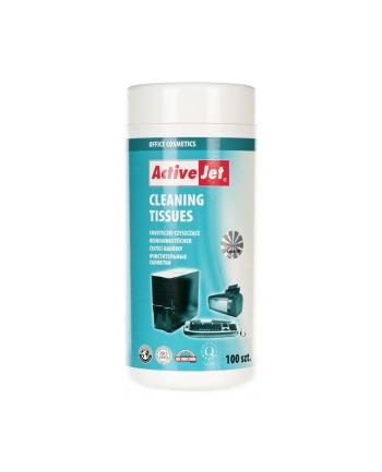 Activejet chusteczki czyszczące 100 szt AOC-301