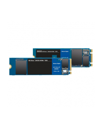 SSD WD Blue 500GB NVMe WDS500G2B0C