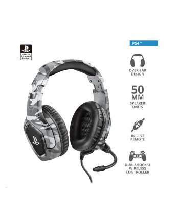 SŁUCHAWKI TRUST GXT 488 FORZE-G PS4 GREY