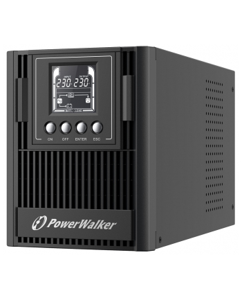 POWER WALKER UPS ON-LINE VFI 1000 AT FR 3X FR OUT  USB/RS-232  LCD  EPO
