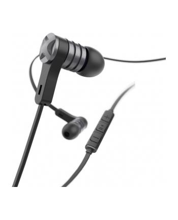 HAMA POLSKA Słuchawki z mikrofonem Hama ''Intense'' dokanałowe czarne