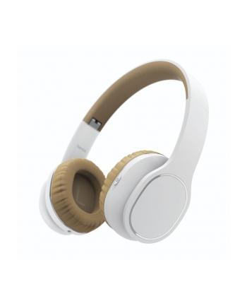 HAMA POLSKA Słuchawki z mikrofonem Hama BT ''Touch'' nauszne biało/beżowe