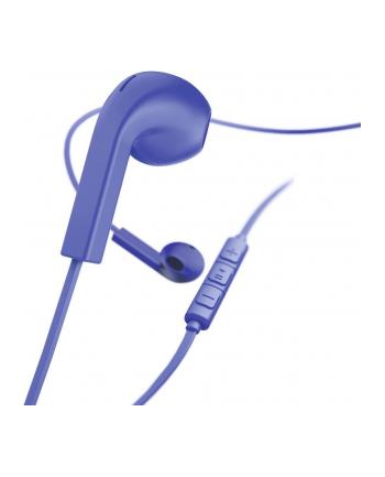 HAMA POLSKA Słuchawki z mikrofonem Hama Advance douszne, niebieskie