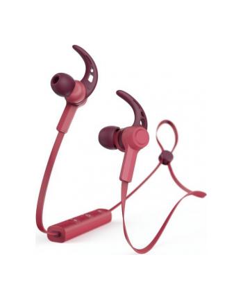 HAMA POLSKA Słuchawki z mikrofonem Hama Bluetooth ''Connect'' czerwone
