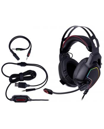 Słuchawki z mikrofonem Tracer GAMEZONE Raptor V2 RGB