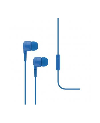 Słuchawki douszne z mikrofonem Ttec J10B, niebieskie