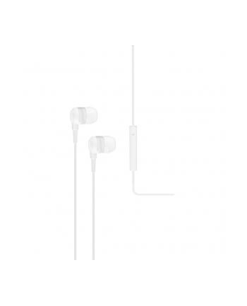 Słuchawki douszne z mikrofonem Ttec J10W, białe
