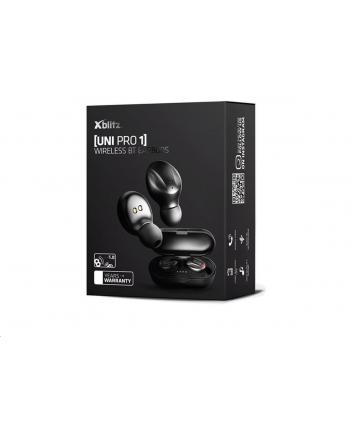 Słuchawki z mikrofonem Xblitz Uni Pro 1 bezprzewodowe BT czarne