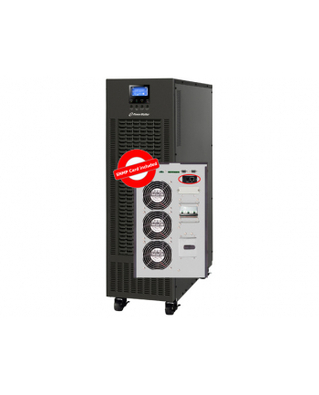 Zasilacz awaryjny UPS Power Walker On-Line 3/3-fazowy 10 KVA, Terminal Out, PF1