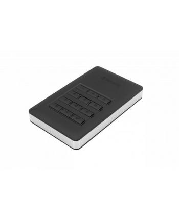 Dysk zewnętrzny Verbatim 2TB Secure 2,5'' czarny USB 3.1 szyfrowany