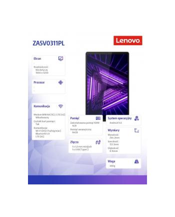 lenovo Tablet M10 G2 ZA5V0311PL Android P22T/4GB/64GB/INT/LTE/10.3 FHD/Iron Grey/2YRS CI
