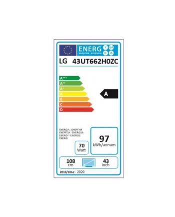 lg electronics Telewizor LED 43 cale HOTEL 43UT662H