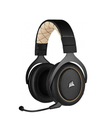 Corsair HS70 Pro Wireless gaming headset (black / cream)