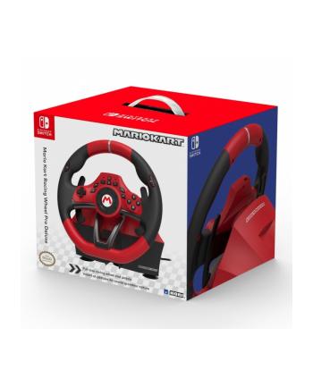 HORI Mario Kart Racing Wheel Pro Deluxe, steering wheel(red / black)