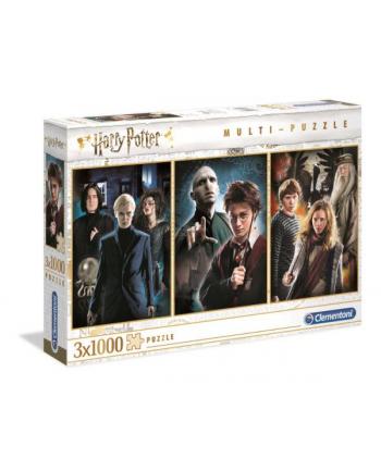 Clementoni Puzzle 3x1000el Harry Potter 61884