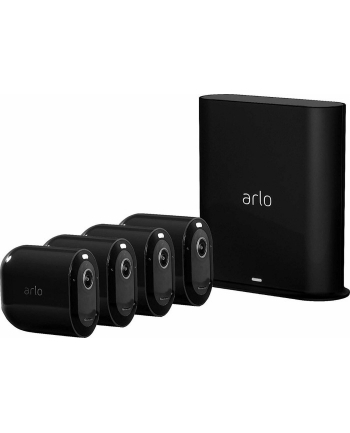 Arlo Pro 3 2K QHD camera set of 4 black