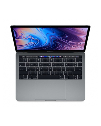 apple MacBook Pro 13 Touch Bar: 2.0GHz quad-core 10th Intel Core i5, 512GB - Space Grey