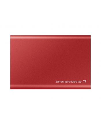 samsung Dysk Portable T7 2TB USB3.2 GEN.2 czerwony