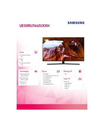 samsung Telewizor 50 cali UE50RU7442UXXH