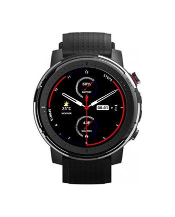 Amazfit Stratos 3, SmartWatch(black, stainless steel)